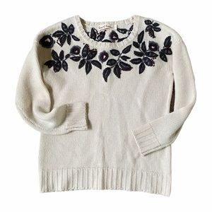 Love Hannah embroidered sweater Hanna Andersson